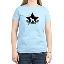 Obey the Schnauzer! star Women's Light Tee