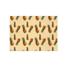 cute pineapple pattern 5'x7'Area Rug
