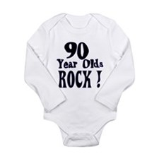 Funny 90's Long Sleeve Infant Bodysuit