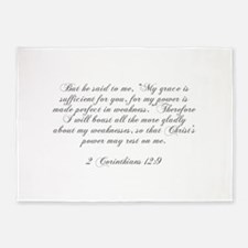 But he said to me My grace is sufficient for you f
