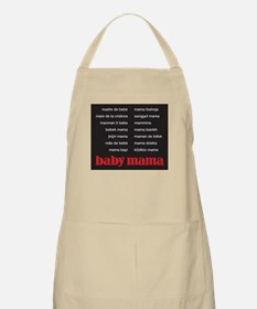 Baby Mama (in 15 languages) Apron
