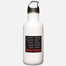 Baby Mama (in 15 languages) Water Bottle