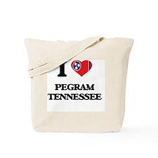 I love Pegram Tennessee Tote Bag