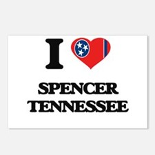 I love Spencer Tennessee Postcards (Package of 8)