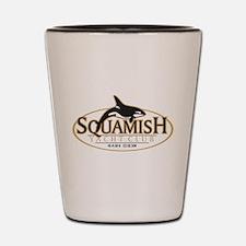 Squamish Yacht Club Shot Glass