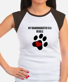 My Granddaughter Is A Beagle T-Shirt