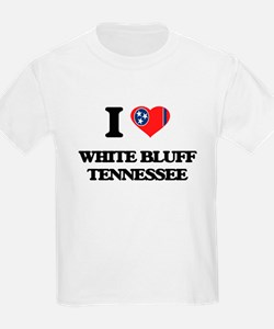 I love White Bluff Tennessee T-Shirt