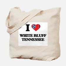 I love White Bluff Tennessee Tote Bag