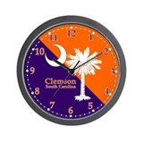 Clemson Wall Clocks