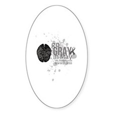 Go Grey in May Decal