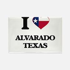 I love Alvarado Texas Magnets