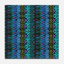 Southwestern Indian Art Tile Coaster
