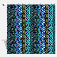 Southwestern Indian Art Shower Curtain