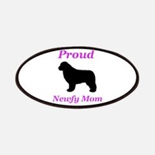 Proud Newfy Mom Patch