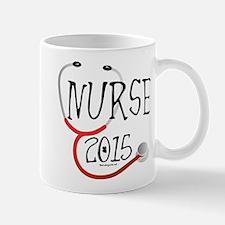 Nurse Graduate 2015 Stethoscope Mug