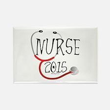 Nurse Graduate 2015 St Rectangle Magnet Magnets