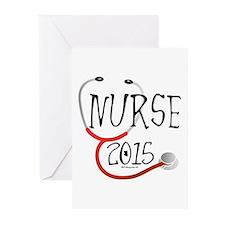 Nurse Graduate 2015 Stet Greeting Cards (pk Of 10)