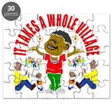 African American kids Puzzle