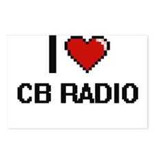 I Love Cb Radio Digital R Postcards (Package of 8)
