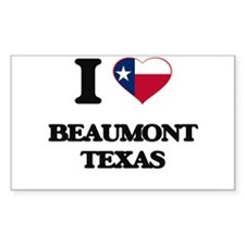 I love Beaumont Texas Decal