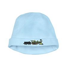 steam train black baby hat