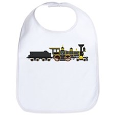 steam train black Bib
