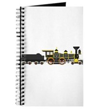 steam train black Journal