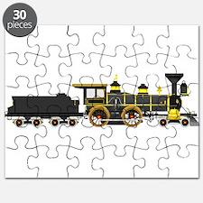 steam train black Puzzle