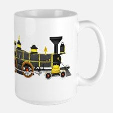 steam train black Mugs