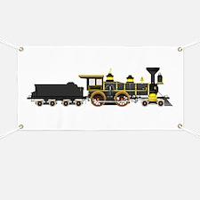 steam train black Banner