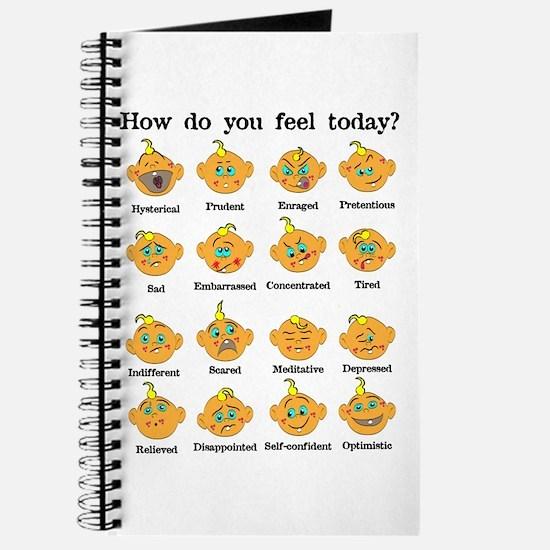 How do you feel today? II Journal