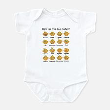 How do you feel today? II Infant Bodysuit