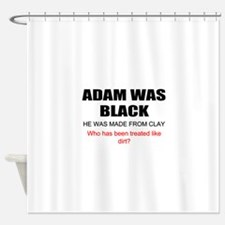 Funny African American Shower Curtain