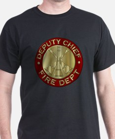 Funny Fire captain T-Shirt