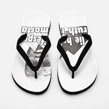 Black History truth Flip Flops