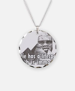 Black History truth Necklace Circle Charm