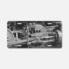 Cute Conductor Aluminum License Plate