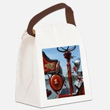 Cute Apparatus Canvas Lunch Bag