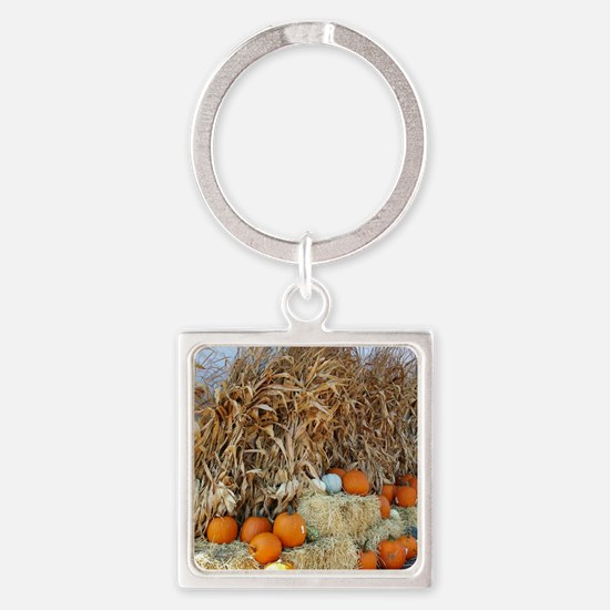 Unique Halloween themes Square Keychain