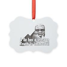 Black History truth Ornament