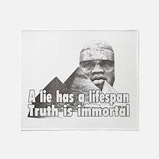 Black History truth Throw Blanket