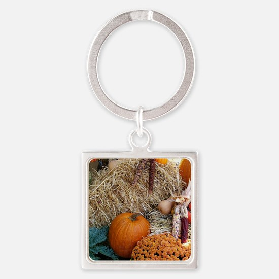Cool Halloween themes Square Keychain
