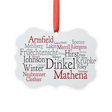 Paula Hinkel Ornament
