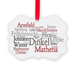 Paula Hinkel Picture Ornament