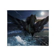 Dark Horse Fantasy Throw Blanket
