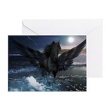 Dark Horse Fantasy Greeting Card