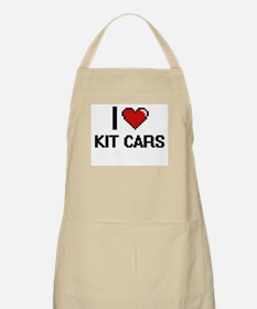 I Love Kit Cars Digital Retro Design Apron