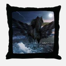 Dark Horse Fantasy Throw Pillow