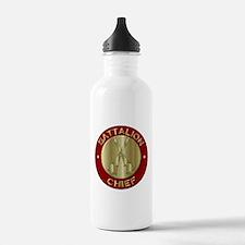 battalion chief brass Water Bottle