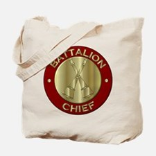 battalion chief brass fire department Tote Bag